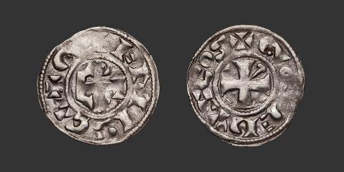 Odysseus Numismatique Monnaies Féodales BERRY - GIEN - GEOFFROI III • Denier