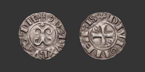 Odysseus Numismatique Monnaies Féodales BOURGOGNE - DIJON - EUDES II • Denier