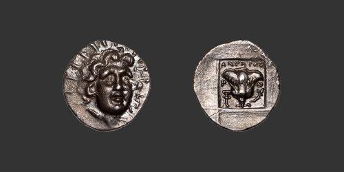 Odysseus Numismatique Monnaies Grecques CARIE - RHODES • Hémidrachme