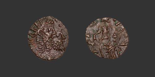 Odysseus Numismatique Monnaies Romaines FRAPPE BARBARE - POSTUME • Antoninien