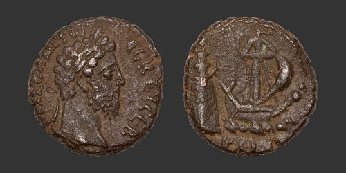 Odysseus Numismatique Monnaies Romaines Coloniales ALEXANDRIE - COMMODE • Tétradrachme