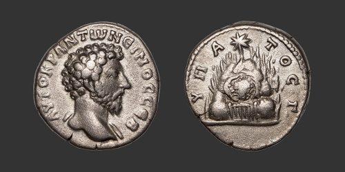 Odysseus Numismatique Monnaies Romaines Coloniales CÉSARÉE DE CAPPADOCE - MARC AURÈLE • Didrachme