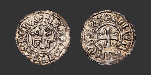 Odysseus Numismatique Monnaies Féodales LE MANS - CHARLES LE CHAUVE • Denier
