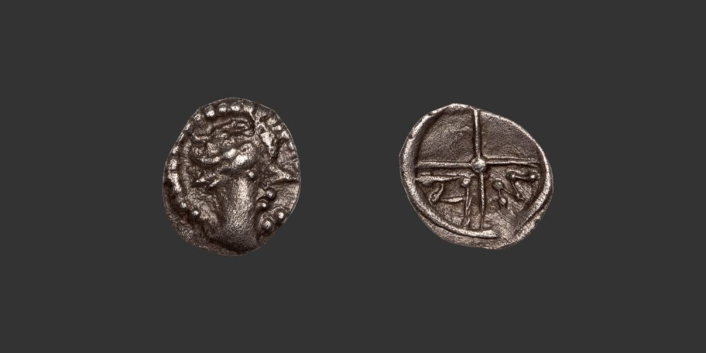 Odysseus Numismatique Monnaies Gauloises Grecques MARSEILLE - SALYENS • Obole