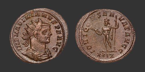 Odysseus Numismatique Monnaies Romaines MAXIMIEN HERCULE • Antoninien