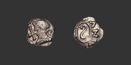 Odysseus Numismatique Monnaies Mérovingiennes MÉROVINGIENS - MARSEILLE - ANSEDERT • Denier