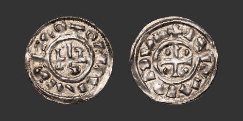 Odysseus Numismatique Monnaies Féodales NORMANDIE - ROUEN - RICHARD Ier • Denier