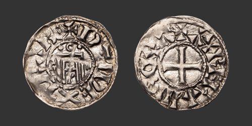 Odysseus Numismatique Monnaies Féodales ORLÉANS - HUGUES • Denier