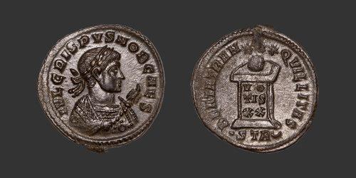 Odysseus Numismatique Monnaies Romaines CRISPUS • Nummus