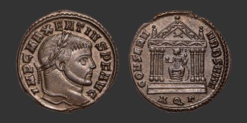 Odysseus Numismatique Monnaies Romaines MAXENCE • Follis