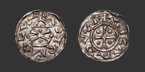 Odysseus Numismatique Monnaies Féodales NORMANDIE – ROUEN – RICHARD Ier • Denier