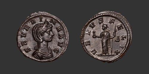 Odysseus Numismatique Monnaies Romaines SÉVERINE • Denier