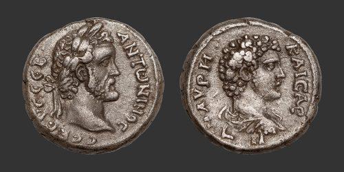 Odysseus Numismatique Monnaies Romaines Coloniales ALEXANDRIE - ANTONIN LE PIEUX & MARC AURÈLE • Tétradrachme