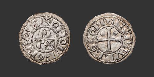 Odysseus Numismatique Monnaies Féodales BÉARN - LES CENTULLES • Denier