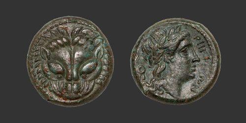 Odysseus Numismatique Monnaies Grecques BRUTTIUM - RHEGION • Bronze