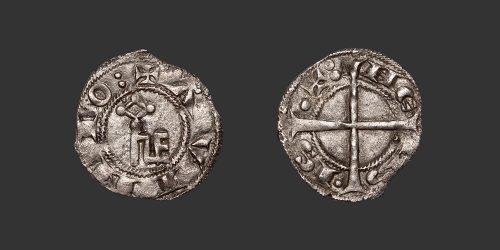 Odysseus Numismatique Monnaies Féodales COMTAT VENAISSIN - AVIGNON - BARRAL DE BAUX • Denier