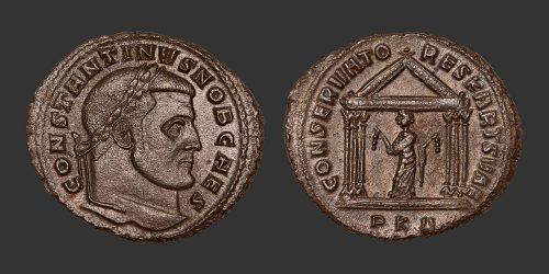 Odysseus Numismatique Monnaies Romaines CONSTANTIN Ier • Follis