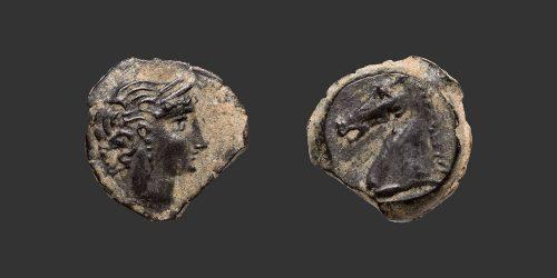 Odysseus Numismatique Monnaies Grecques IBÉRIE - CARTHAGE • Bronze