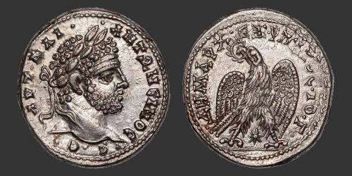 Odysseus Numismatique Monnaies Romaines Coloniales LAODICÉE - CARACALLA • Tétradrachme
