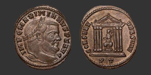 Odysseus Numismatique Monnaies Romaines MAXIMIEN • Follis