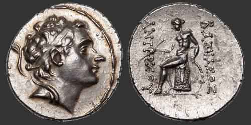 Odysseus Numismatique Monnaies Grecques SÉLEUCIDES - ANTIOCHOS III • Tétradrachme