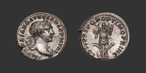 Odysseus Numismatique Monnaies Romaines TRAJAN • Denier
