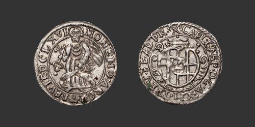Odysseus Numismatique Monnaies Allemandes TRIER - KARL KASPAR VON DER LEYEN • Petermännchen
