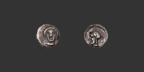 Odysseus Numismatique Monnaies Grecques CILICIE - TARSOS - PHARNABAZOS • Hémiobole