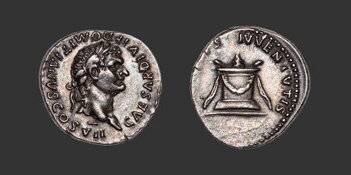 Odysseus Numismatique Monnaies Romaines DOMITIEN • Denier
