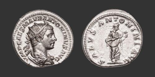 Odysseus Numismatique Monnaies Romaines ÉLAGABAL • Antoninien