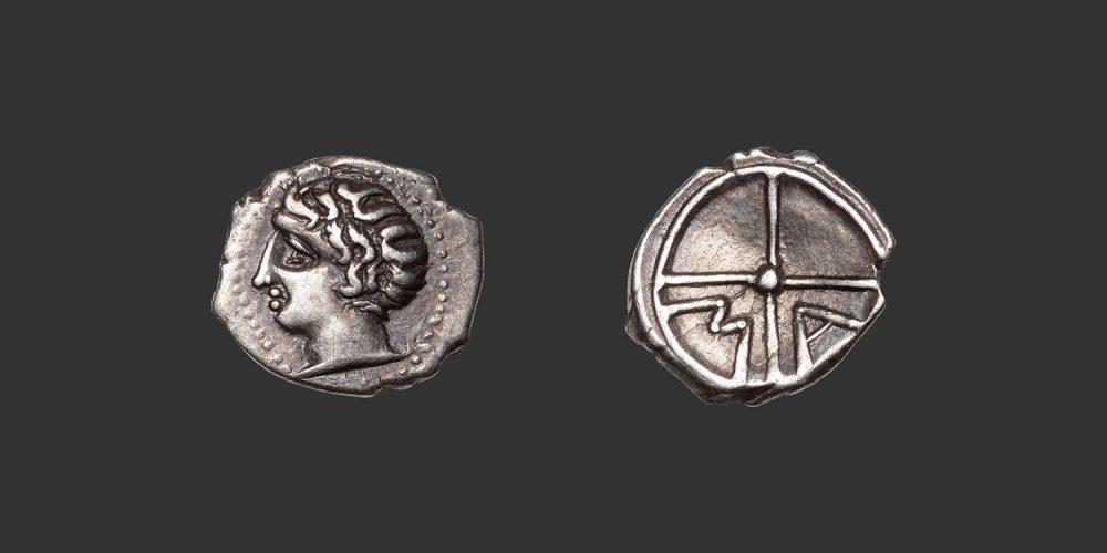 Odysseus Numismatique Monnaies Grecques Gauloises MARSEILLE • Obole