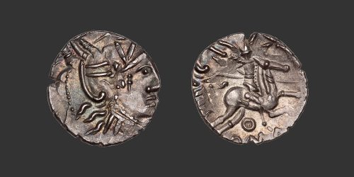 Odysseus Numismatique Monnaies Gauloises VALLÉE DU RHONE • Quinaire