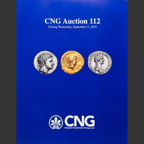 Odysseus Numismatique Catalogues de Vente Monnaies Grecques Romaines AUCTION 112 • Classical Numismatic Group 2019
