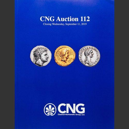 Odysseus Numismatique Catalogues de Vente Monnaies Grecques Romaines AUCTION 112 • Classical Numismatic Group 2019