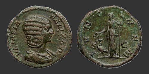 Odysseus Numismatique Monnaies Romaines JULIA DOMNA • Dupondius As