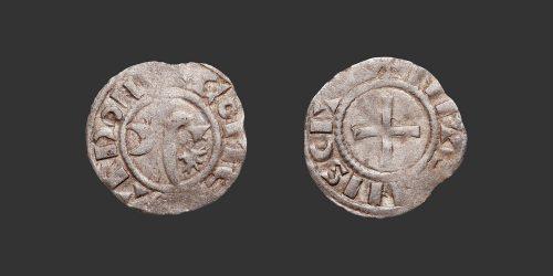 Odysseus Numismatique Monnaies Féodales NEVERS - GUY Ier • Obole