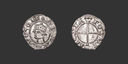 Odysseus Numismatique Monnaies Féodales PROVENCE - ALPHONSE II D'ARAGON • Obole