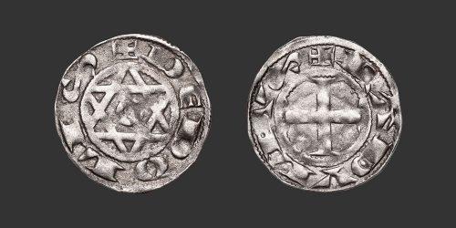 Odysseus Numismatique Monnaies Médiévales Féodales BERRY - DÉOLS - RAOUL VII • Denier
