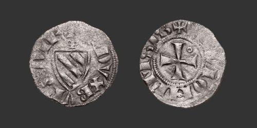 Odysseus Numismatique Monnaies Médiévales Féodales BOURGOGNE - DIJON - ROBERT II • Denier