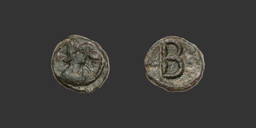 Odysseus Numismatique Monnaies Byzantines CARTHAGE - JUSTINIEN Ier • 2 Nummi