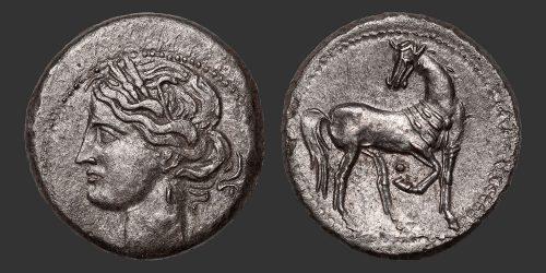 Odysseus Numismatique Monnaies Grecques CARTHAGE • Trihemishekel