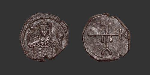 Odysseus Numismatique Monnaies Byzantines GRÈCE - MANUEL Ier COMNÈNE • Demi Tetarteron