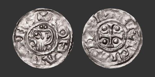 Odysseus Numismatique Monnaies Médiévales Carolingiennes LOTHAIRE • Denier