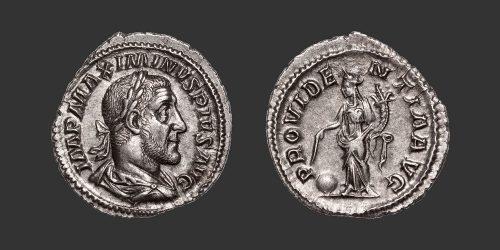 Odysseus Numismatique Monnaies Romaines MAXIMIN Ier • Denier