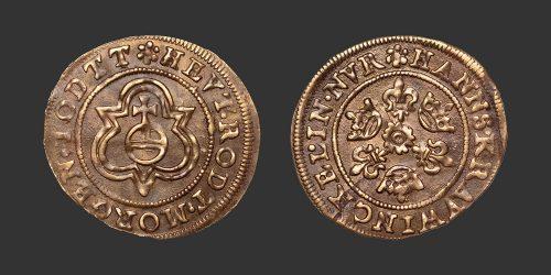 Odysseus Numismatique Monnaies Médiévales Jetons NUREMBERG - HANS KRAUWINCKEL II • Jeton