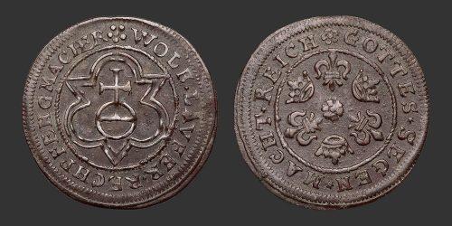 Odysseus Numismatique Monnaies Médiévales Jetons NUREMBERG - WOLF LAUFFER II • Jeton