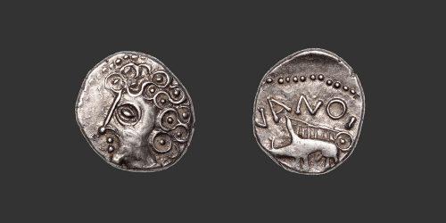 Odysseus Numismatique Monnaies Gauloises SÉQUANES • Quinaire