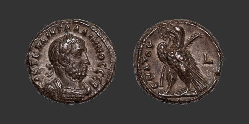 Odysseus Numismatique Monnaies Romaines Coloniales ALEXANDRIE - GALLIEN • Tétradrachme