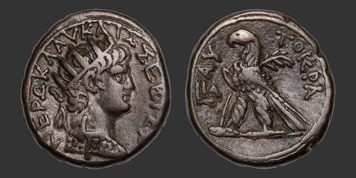 Odysseus Numismatique Monnaies Romaines Coloniales ALEXANDRIE - NÉRON • Tétradrachme