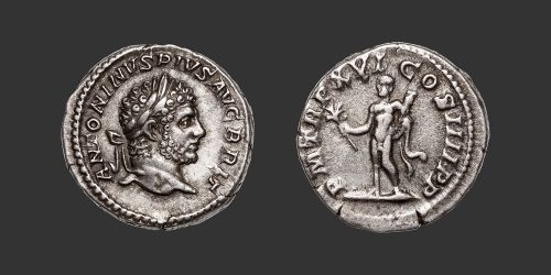 Odysseus Numismatique Monnaies Romaines CARACALLA • Denier